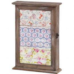 Floral decorative key box