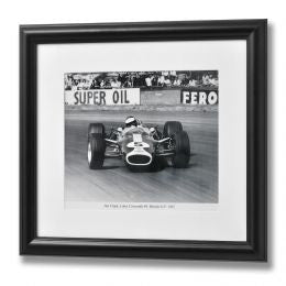 Jim Clarke British Grand Prix Framed Print