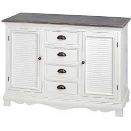 Four Drawer Sideboard Cabinet