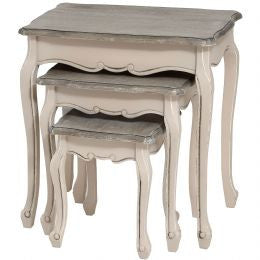 Manor House Set Of 3 Nest Of Tables