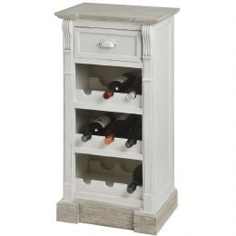 Cabinet with Three Wine Racks