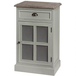 Cabinet with Frosted Glass Door