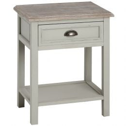 New Lyon Single Drawer Bedside Table