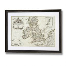 Old Map of Britian and Ireland