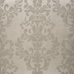 Serafina Damask Bronze Wallpaper