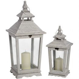 Set of two traditional lanterns