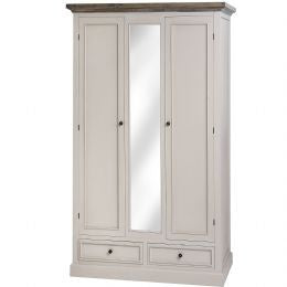 2 Drawer 2 Door Wardrobe