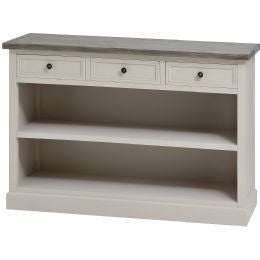 3 Drawer Low Bookcase