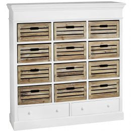 12 Drawer Storage Unit