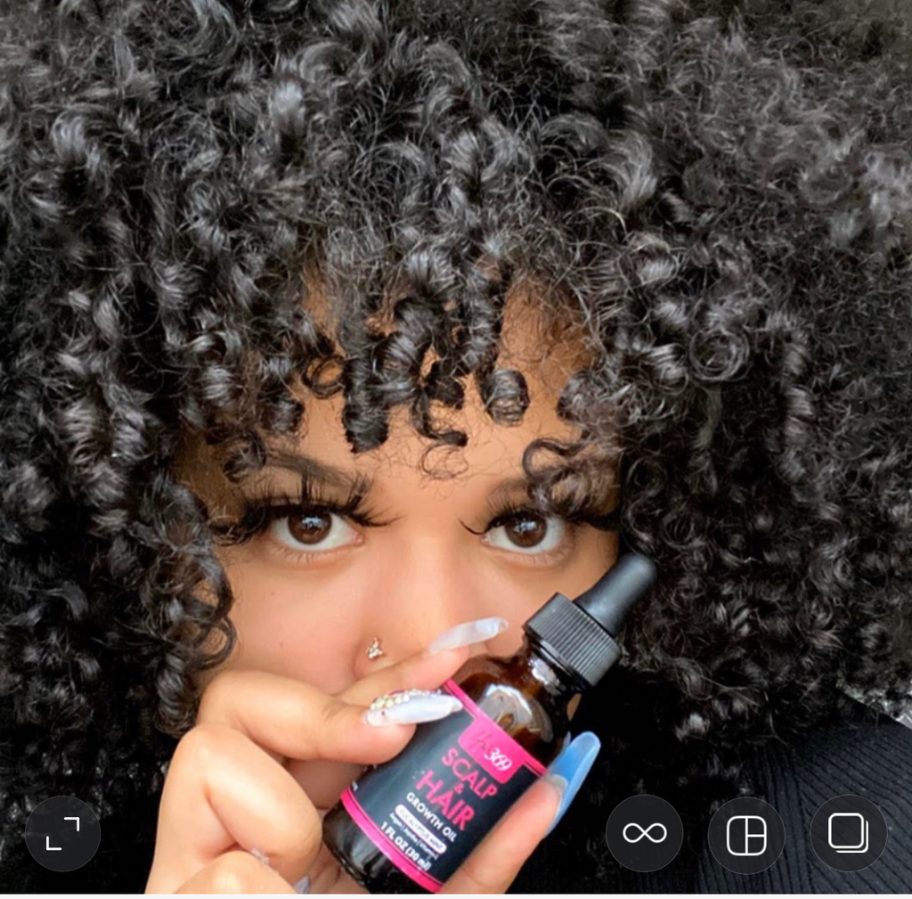 Scalp & Hair Growth Oil