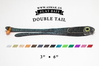 Flat Bait Double Tail