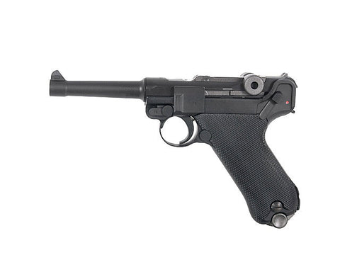 "WE Luger P08 4"" Black - A2 Supplies Ltd"