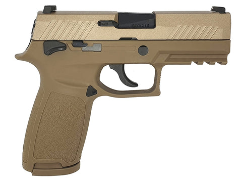AEG F18 GBB Pistol Tan - A2 Supplies Ltd