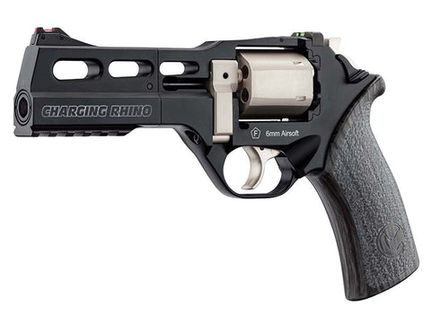 "Chiappa Limited Edition Charging Rhino 50DS Co2 Revolver (5"" - Black/White) *Pre-Order*"