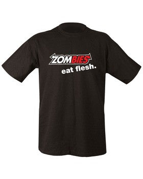 KUK T-Shirt - Zombie Eat Flesh - A2 Supplies Ltd