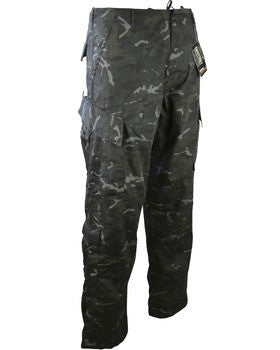 KUK Assault Trouser ACU Style BTP Black