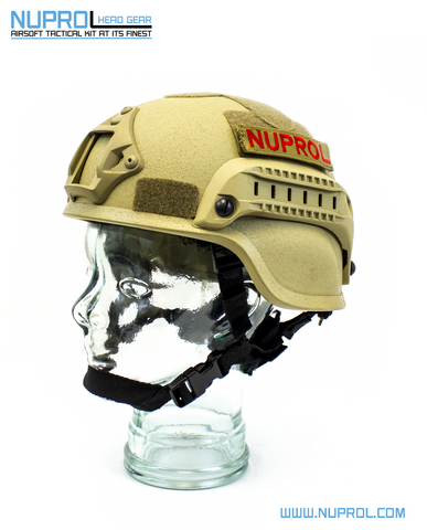 MICH Helmet Tan - A2 Supplies Ltd
