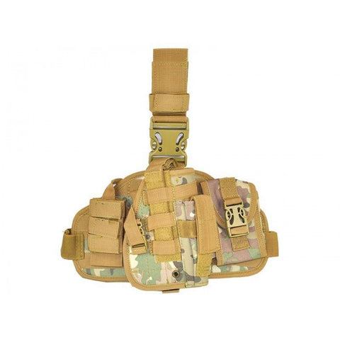 CCCP Universal Pistol Holster with Pouch Camo - A2 Supplies Ltd