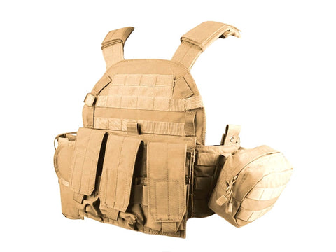 Big Foot 6094 Vest (500D - Tan) - A2 Supplies Ltd