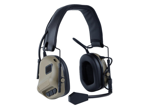 Big Foot Tactical Comms Headset Tan - A2 Supplies Ltd