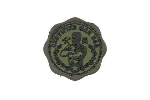 PVC Certified Man Bag Olive Drab Patch - A2 Supplies Ltd
