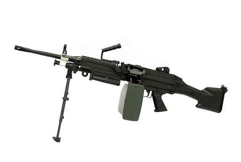 FN M249 MK2 AEG  w/Box Magazine - A2 Supplies Ltd