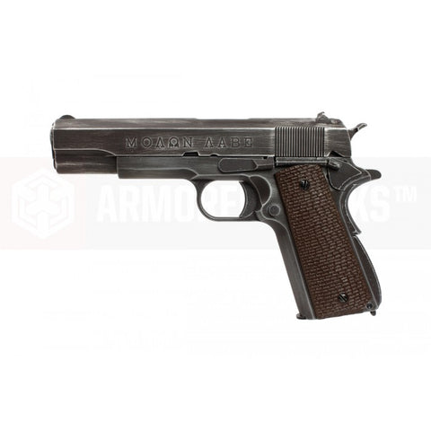 Molon Labe 1911 with Brown Grips - A2 Supplies Ltd