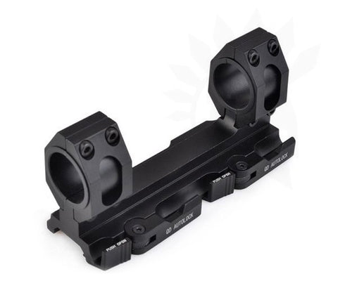 AIM Tactical 25.4mm-30mm Ring Mount Black - A2 Supplies Ltd