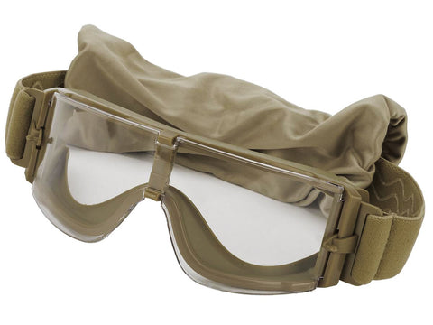 X800 Goggle (Tan Colour - Clear Lens) - A2 Supplies Ltd