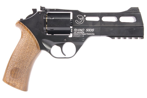 Chiappa Rhino 50DS Co2 Revolver Black - A2 Supplies Ltd