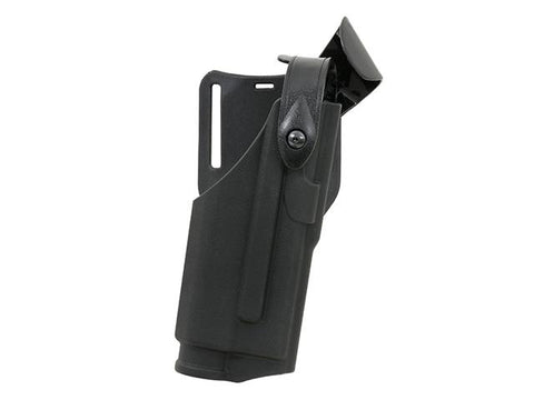 Duty holster for EU Series with WeaponLight - Black - A2 Supplies Ltd