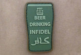 GFT Beer Drinking Infidel Patch - A2 Supplies Ltd