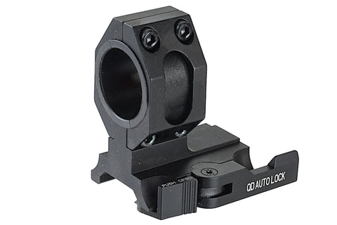 25/30mm QD L-Shaped Scope Mount Black