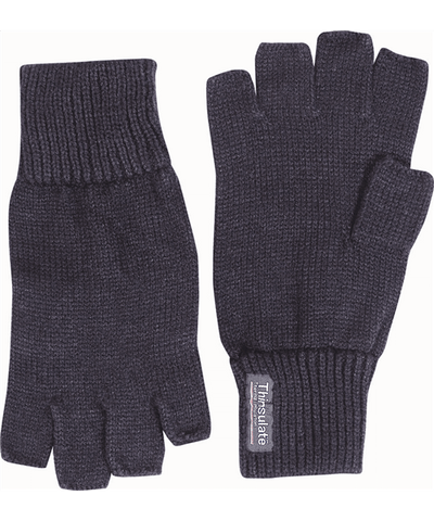 Fingerless Mitts Black - A2 Supplies Ltd