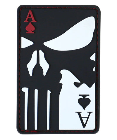 KUK Ace Of Spades Morale Patch - A2 Supplies Ltd