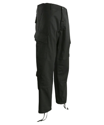 KUK Assault Trousers ACU Style Black - A2 Supplies Ltd