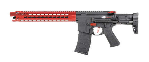 Avalon Leopard Carbine AEG - Red