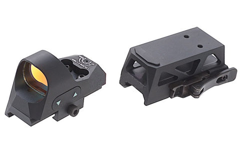 Sotac Gear Romeo Style Red Dot Sight Black - A2 Supplies Ltd