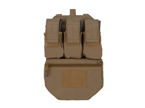 8Fields Assault Back Panel - Coyote - A2 Supplies Ltd