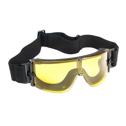 Big Foot X800 Goggles (Black Colour - Yellow Lens) - A2 Supplies Ltd