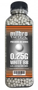 Milbro 0.25g BB 3000rd Bottle - A2 Supplies Ltd