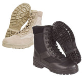 Patrol Boots - Half Leather Half Cordura - A2 Supplies Ltd