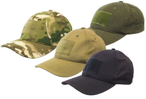 Combat Cap w/Velcro - A2 Supplies Ltd