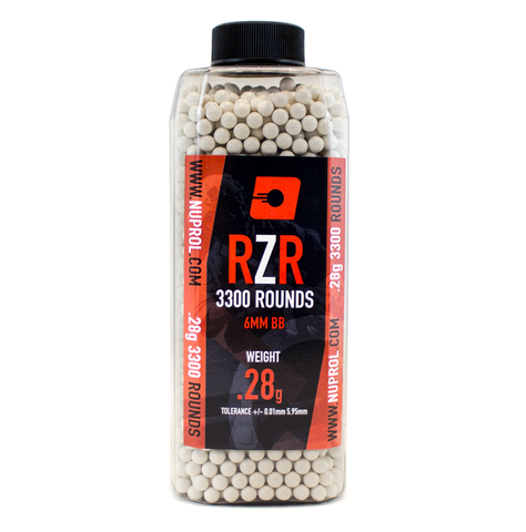 RZR 0.28g BB 3300rds - A2 Supplies Ltd