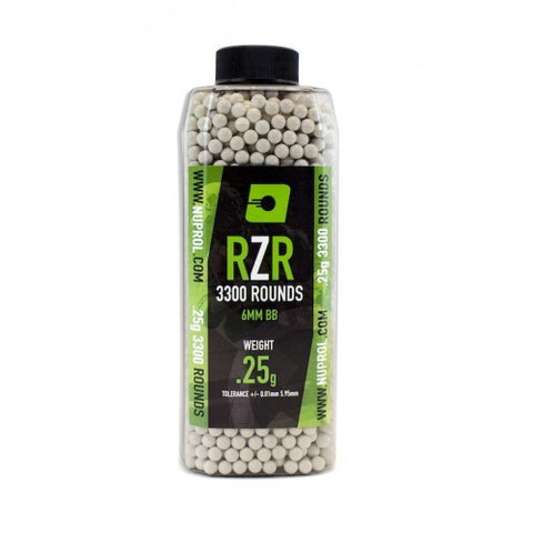 RZR 0.25g BB's 3300rds - A2 Supplies Ltd