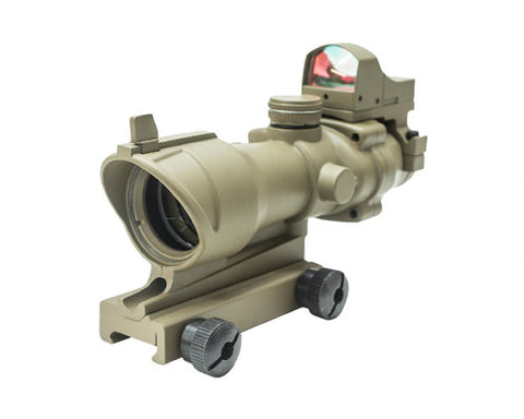 Nuprol COG 4X32 + DR Sight FDE