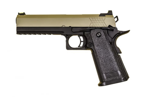 Raven Hi-Capa 5.1 Black Frame/Tan Slide - A2 Supplies Ltd
