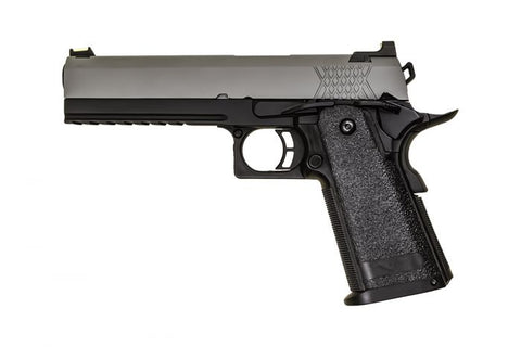 Raven Hi-Capa 5.1 Black Frame/Grey Slide - A2 Supplies Ltd
