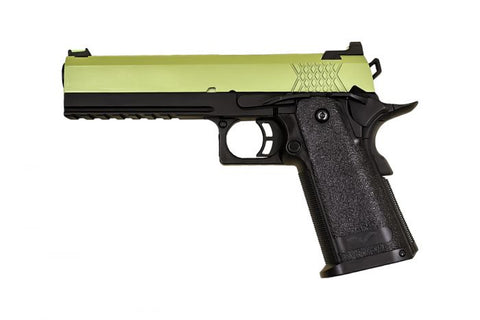 Raven Hi-Capa 5.1 Black Frame /Green Slide *WEB ONLY SPECIAL* - A2 Supplies Ltd