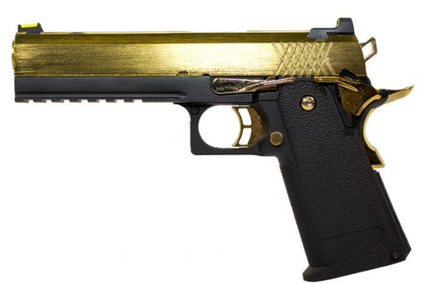 Raven Hi-Capa 5.1 Black Frame/Gold Slide *WEB ONLY SPECIAL* - A2 Supplies Ltd